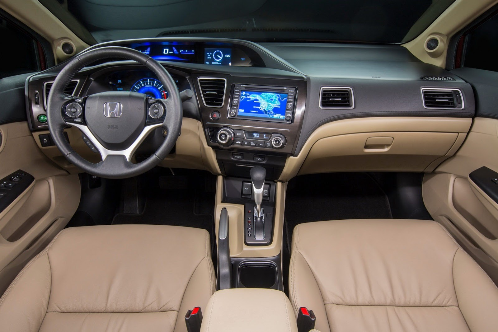 Attractive Honda Civic EXL 2013   Painel