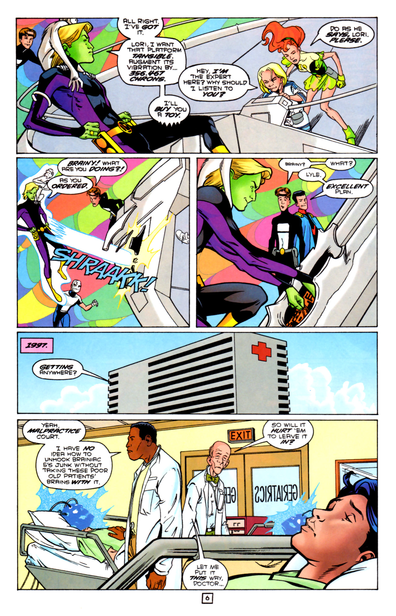 Legion of Super-Heroes (1989) 91 Page 5