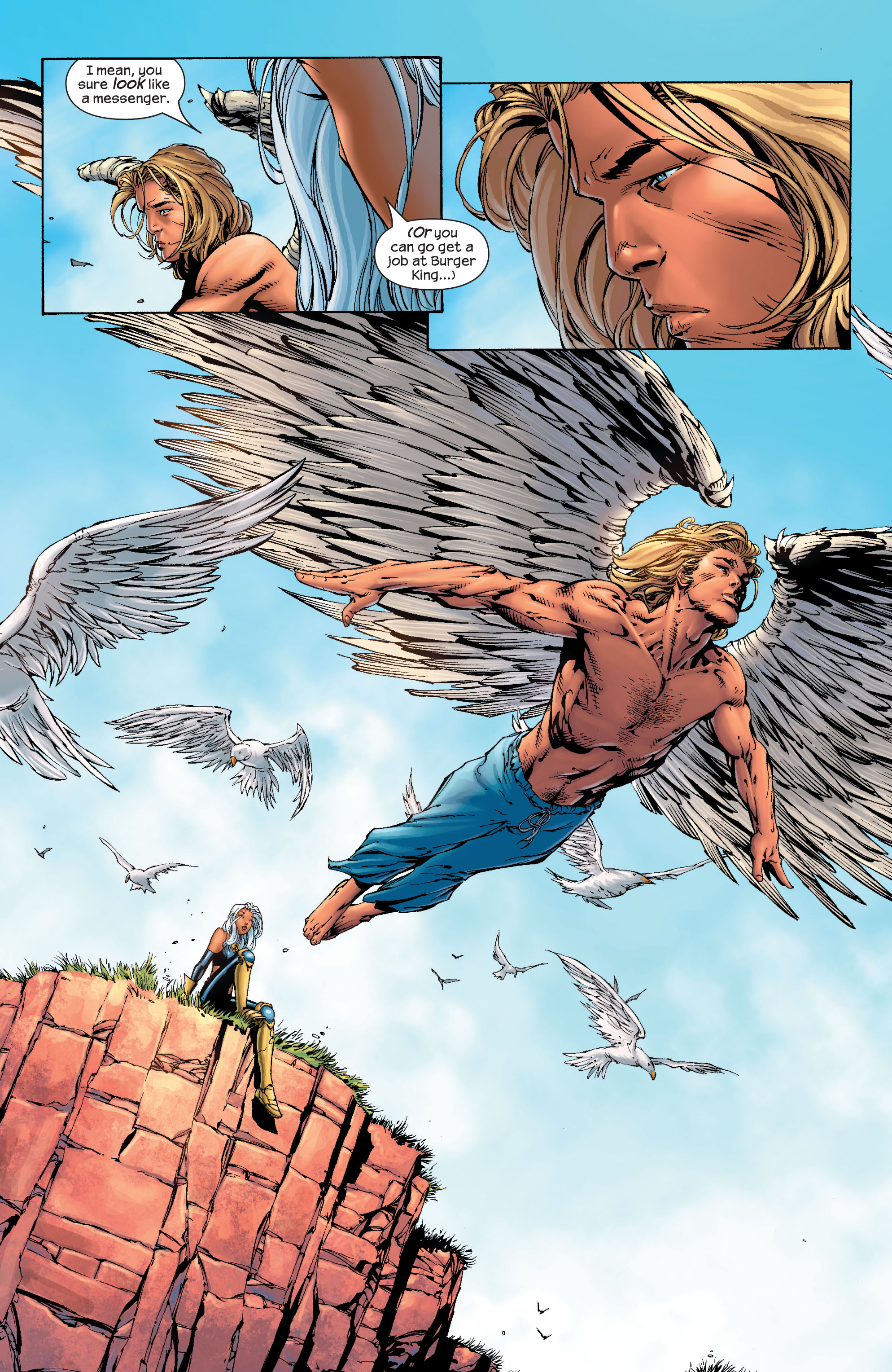 Read online Ultimate X-Men comic -  Issue #40 - 18