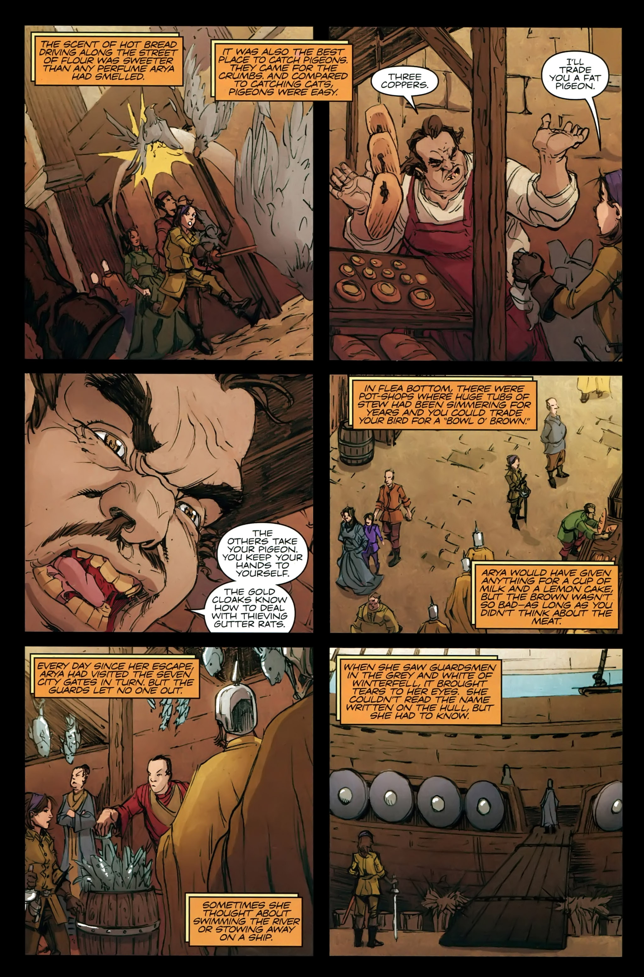 Read online A Game Of Thrones comic -  Issue #21 - 23