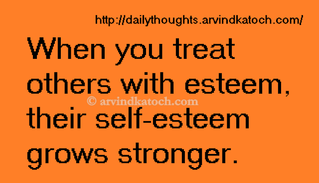 esteen, self esteem, Daily Thought, Thought, Quote,
