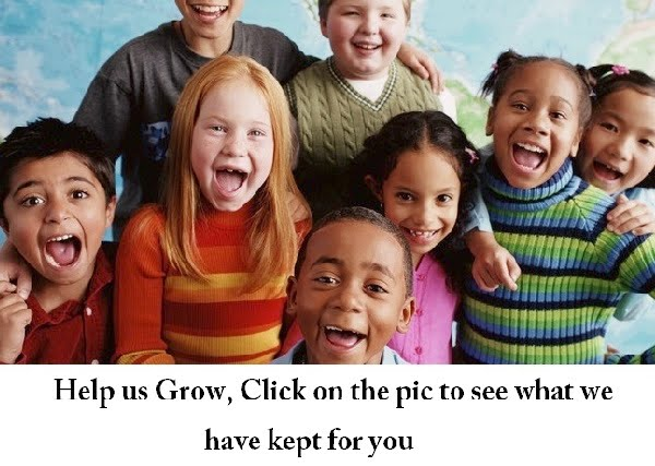 click on sponsored images above. Each click will help a child some $ !