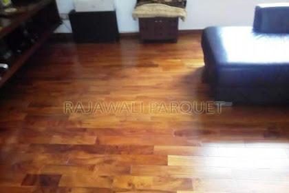 Memasang Lantai Kayu Jati untuk rumah