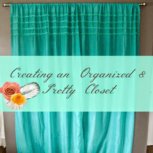 Master Bedroom Redo - Organized & Pretty Closet