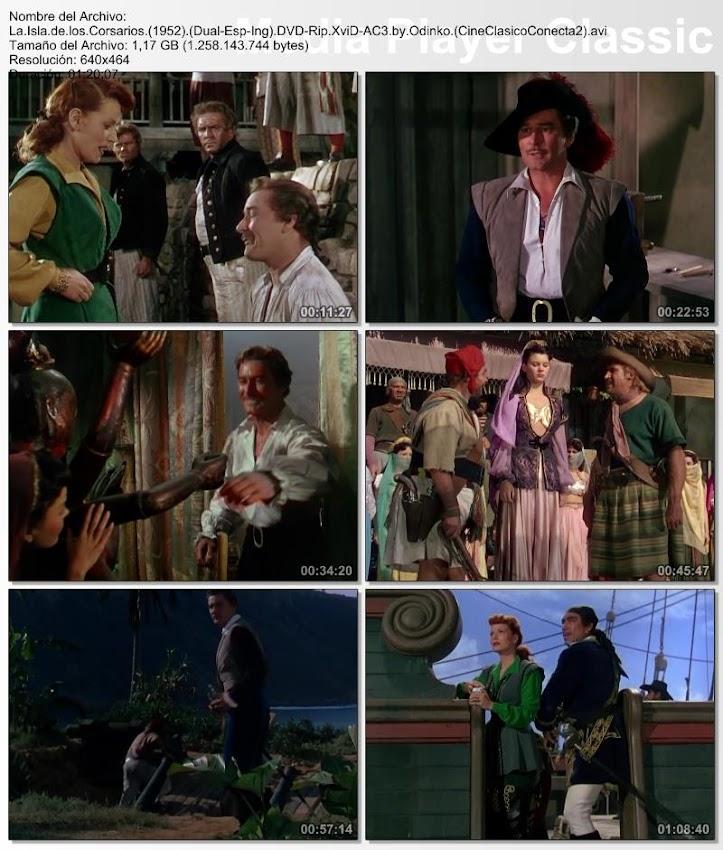 La isla de los corsarios | 1952 | Against All Flags | Secuencias de la película