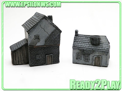 EPS-NOR05 - Normandy buildings (x2)