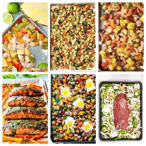 6 weeknight sheet pan dinners