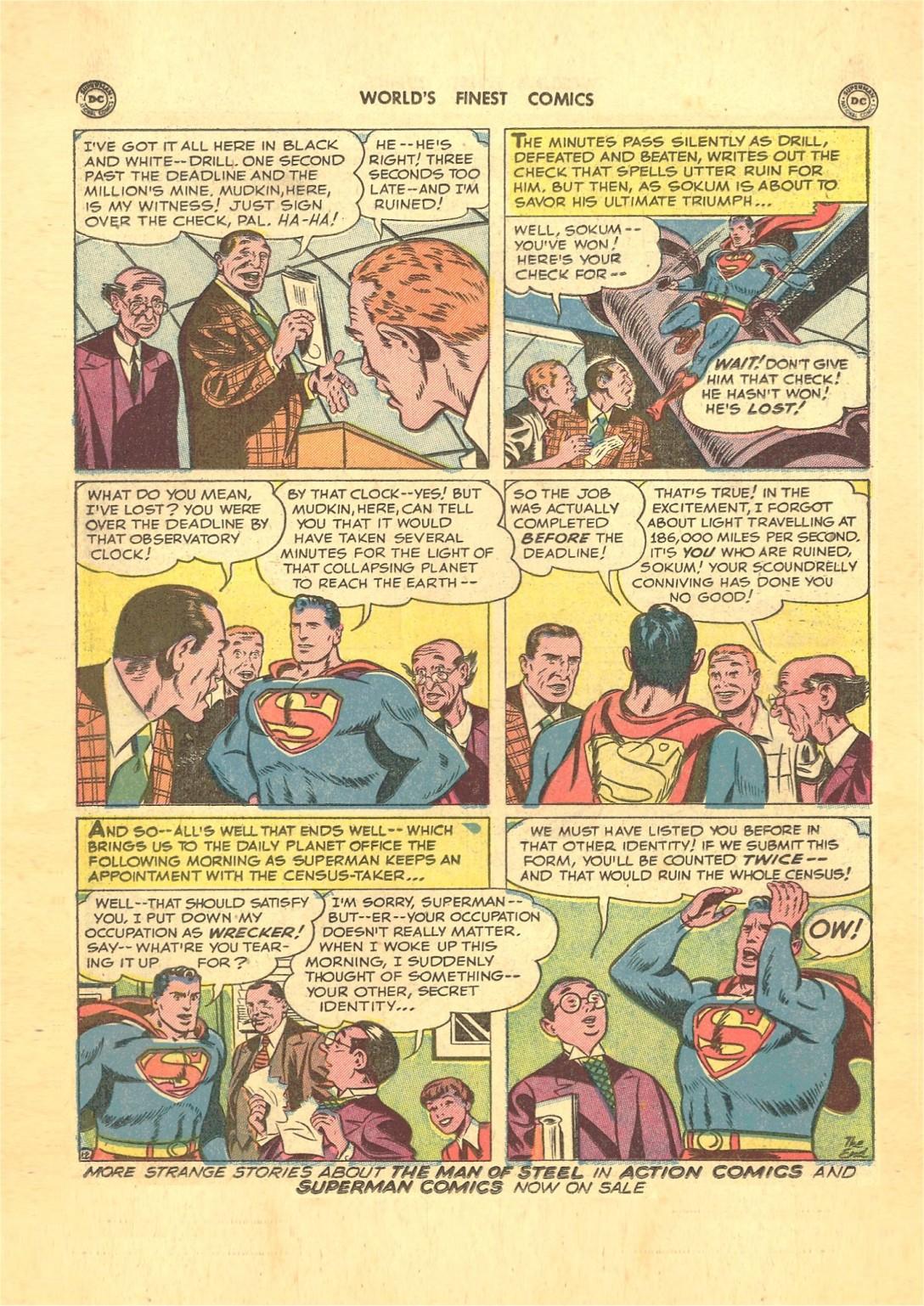 Read online World's Finest Comics comic -  Issue #50 - 14