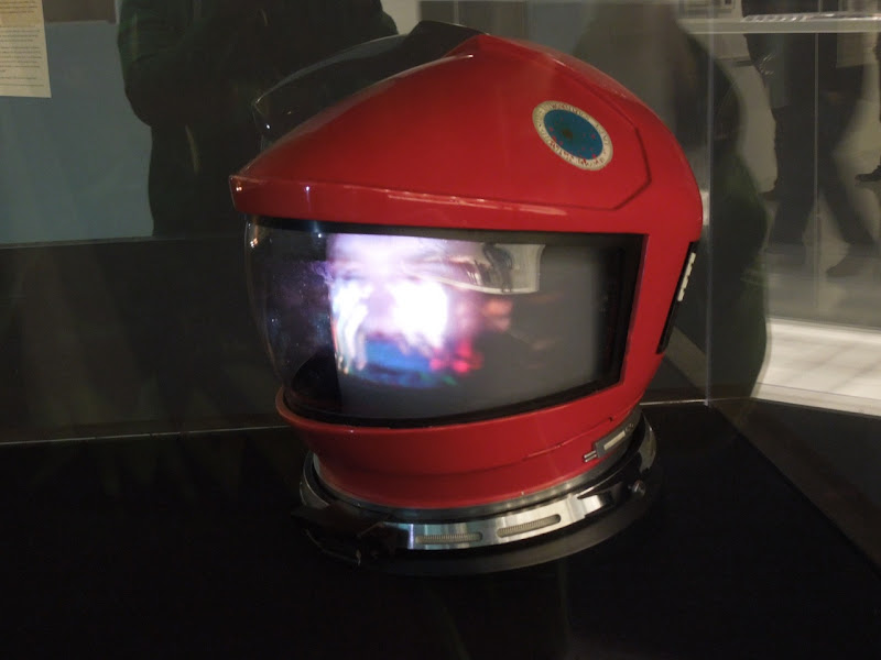 Dave Bowman space helmet 2001 A Space Odyssey