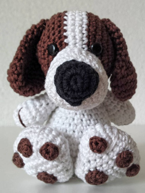 Cute Dog Crochet Pattern