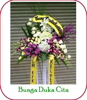 Bunga Standing Duka Cita di Bandung