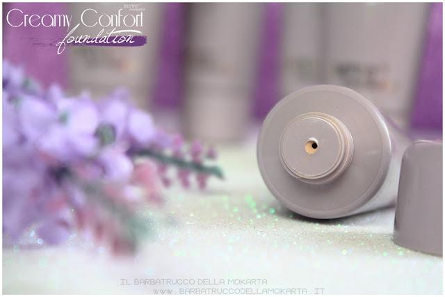 creamy confort foundation Fondotinta Neve Cosmetics packaging