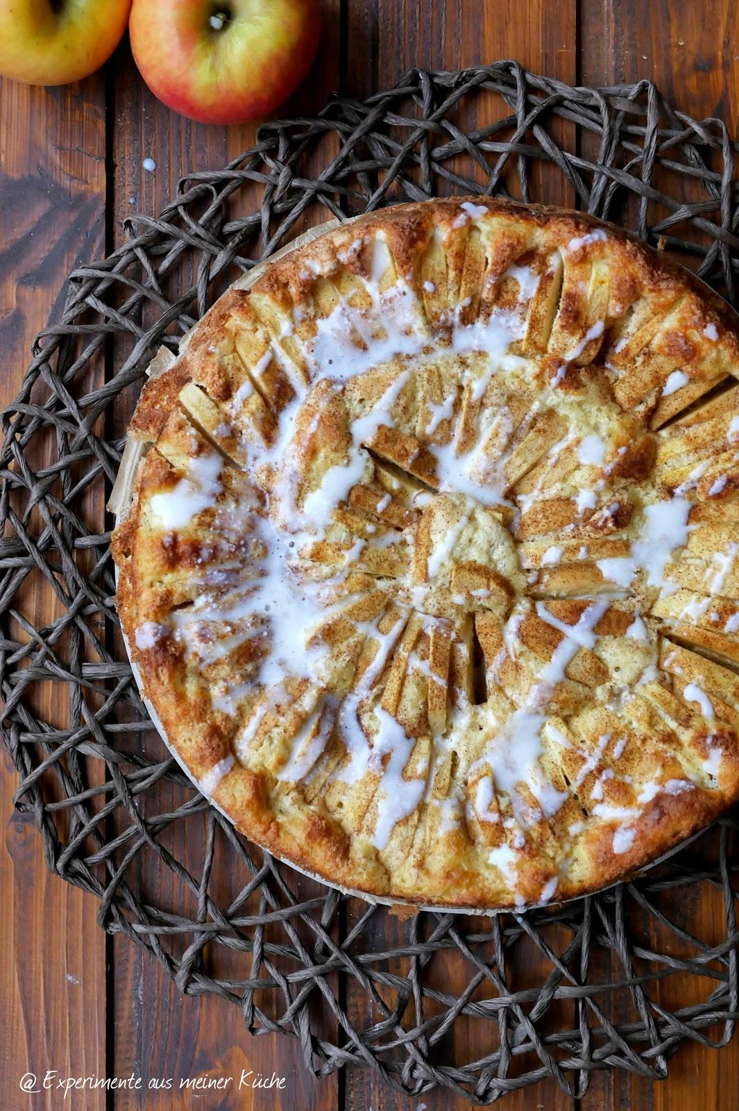 Experimente Aus Meiner Kuche Apfel Zimt Kuchen