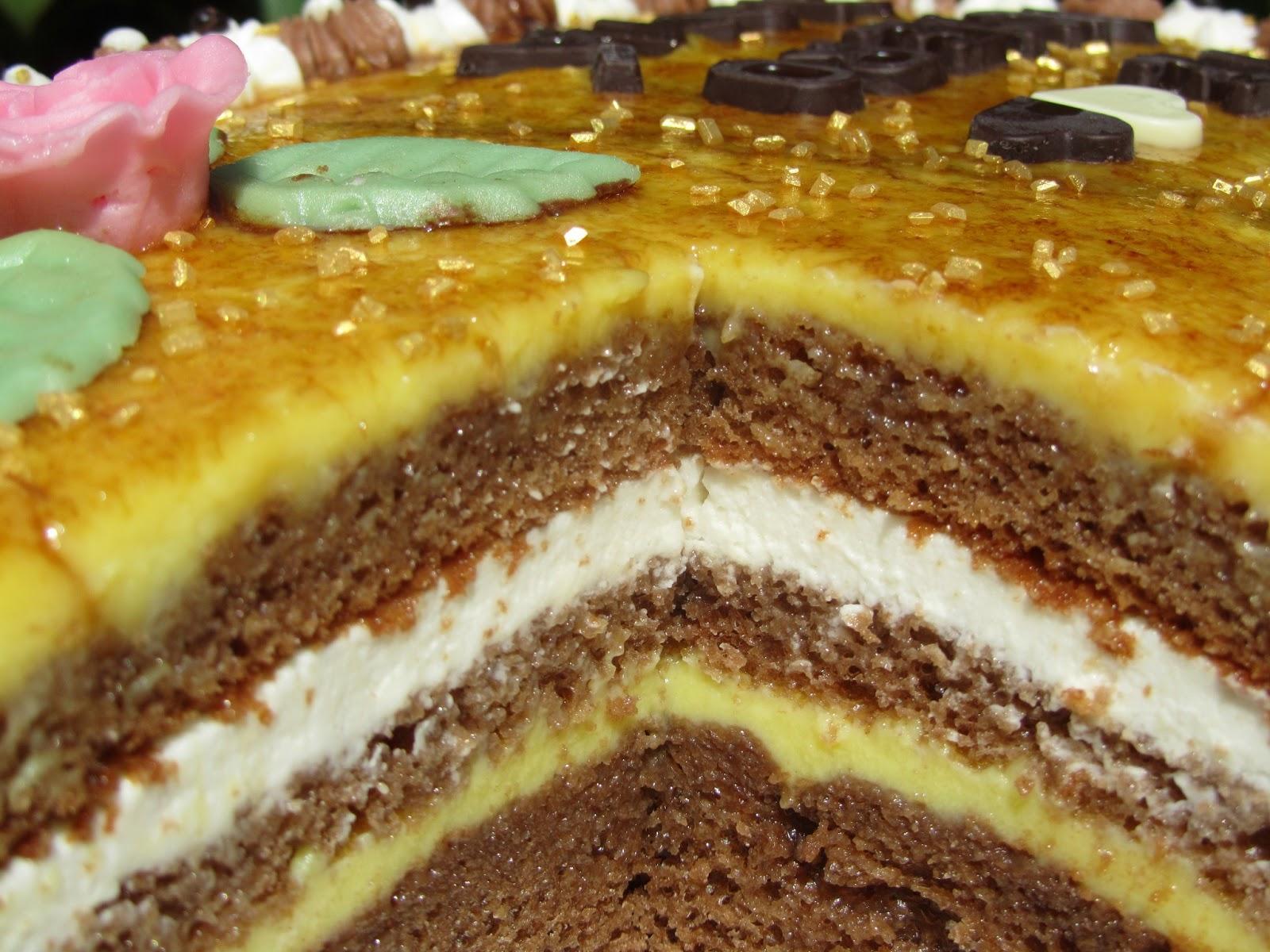 Tarta San Marcos o pastelitos Thermomix