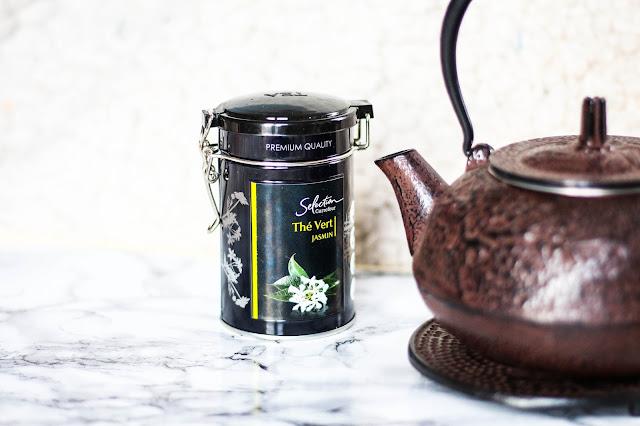 Thé vert jasmin de Carrefour