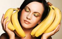 Bananen Kur für trockene Haare