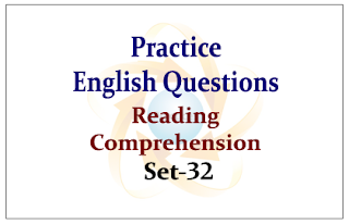 SBI PO Exam 2015- Practice English Questions (Reading Comprehension)