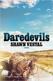 book cover of Daredevils by Shawn Vestal literary fiction