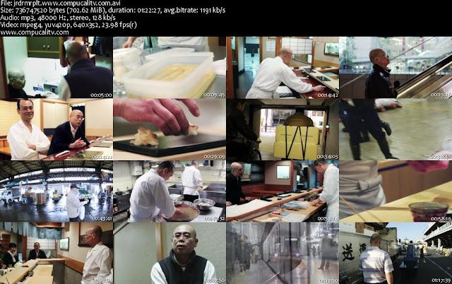 Jiro Dreams of Sushi DVDRip Subtitulos Español Latino Descargar 1 Link