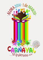 Carnaval de Alora 2014 - Flores Reyes Berlanga y Escuela Taller Iluro VIII