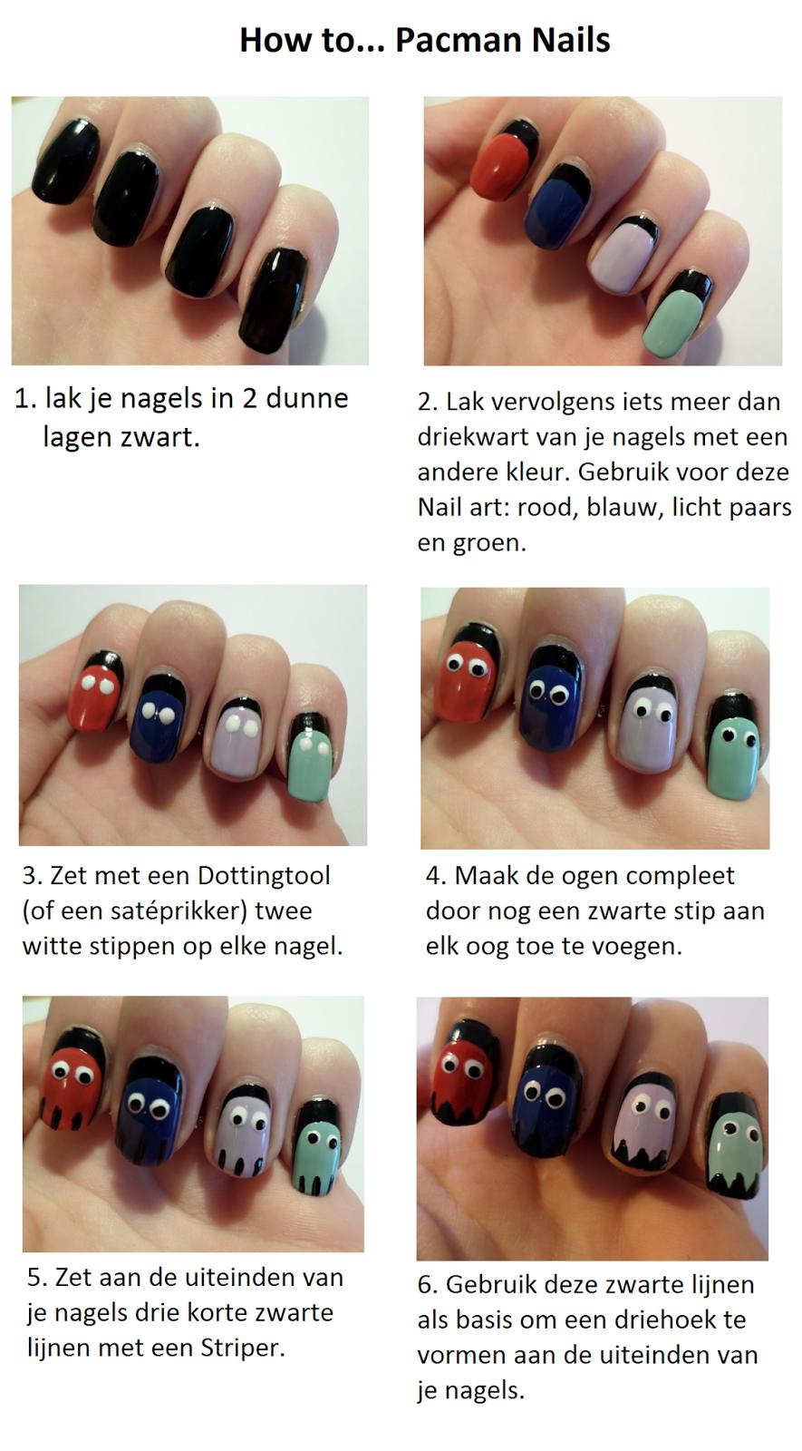 nagels met nail art