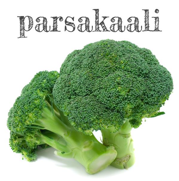 Raaka Parsakaali