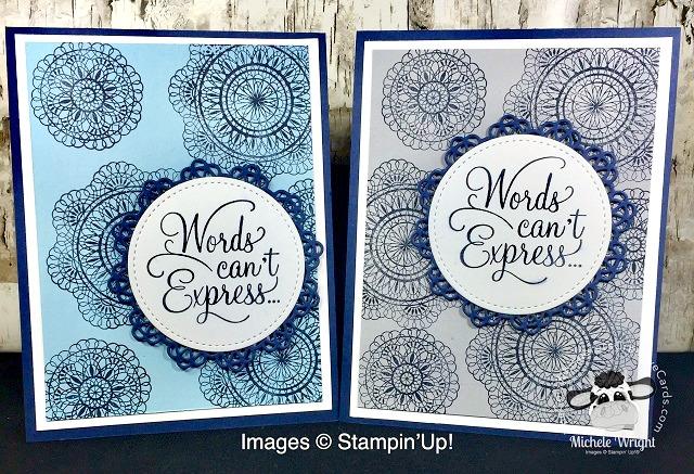 Card, Dear Doily, Clean & Simple, Sympathy,