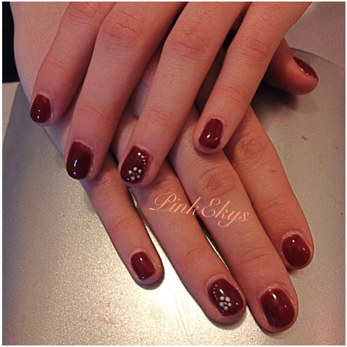 Pinkekys : Unghie in gel: Eva' s Passion by Estrosa