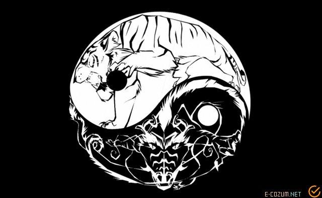 Kadın ve erkek sembolleri, yin-yang
