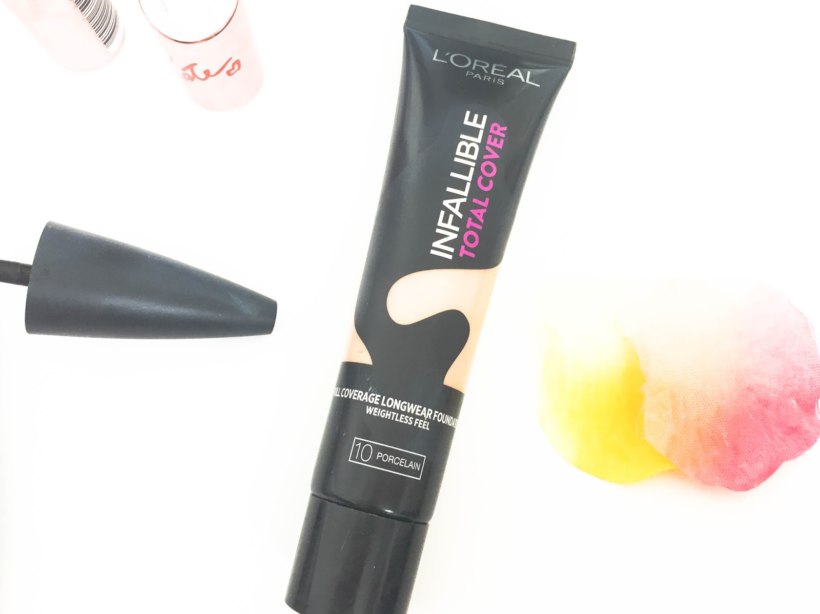 L'Oreal Infallible Total Cover Foundation in 10 Porcelain