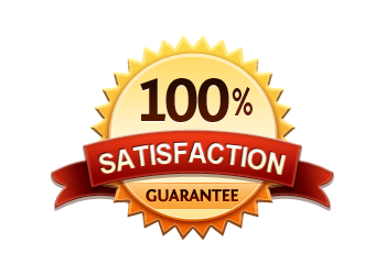 100 percent satisfaction guaranteebadge