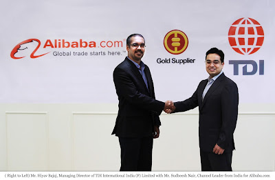 Tdiindia partner with Alibaba