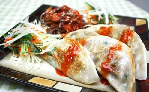masakan korea, jajanan korea, bibim mandu, korea food,jajanan sehat