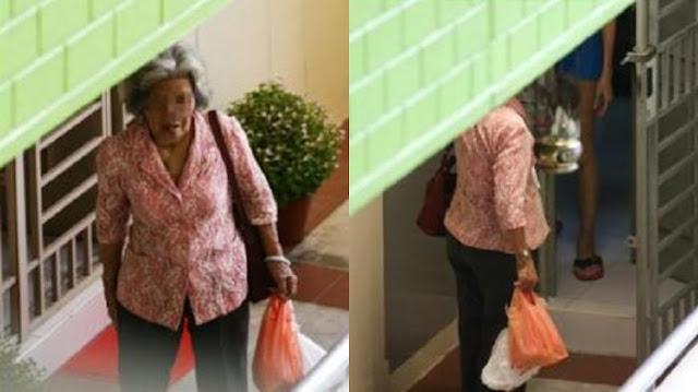 Kasih Ibu Sepanjang Masa! Wanita Tua 70 Tahun Ini Setiap Hari Rela Mengetuk Pintu dan Menunggu Berjam-jam Demi Dapat Kunjungi Putrinya yang....