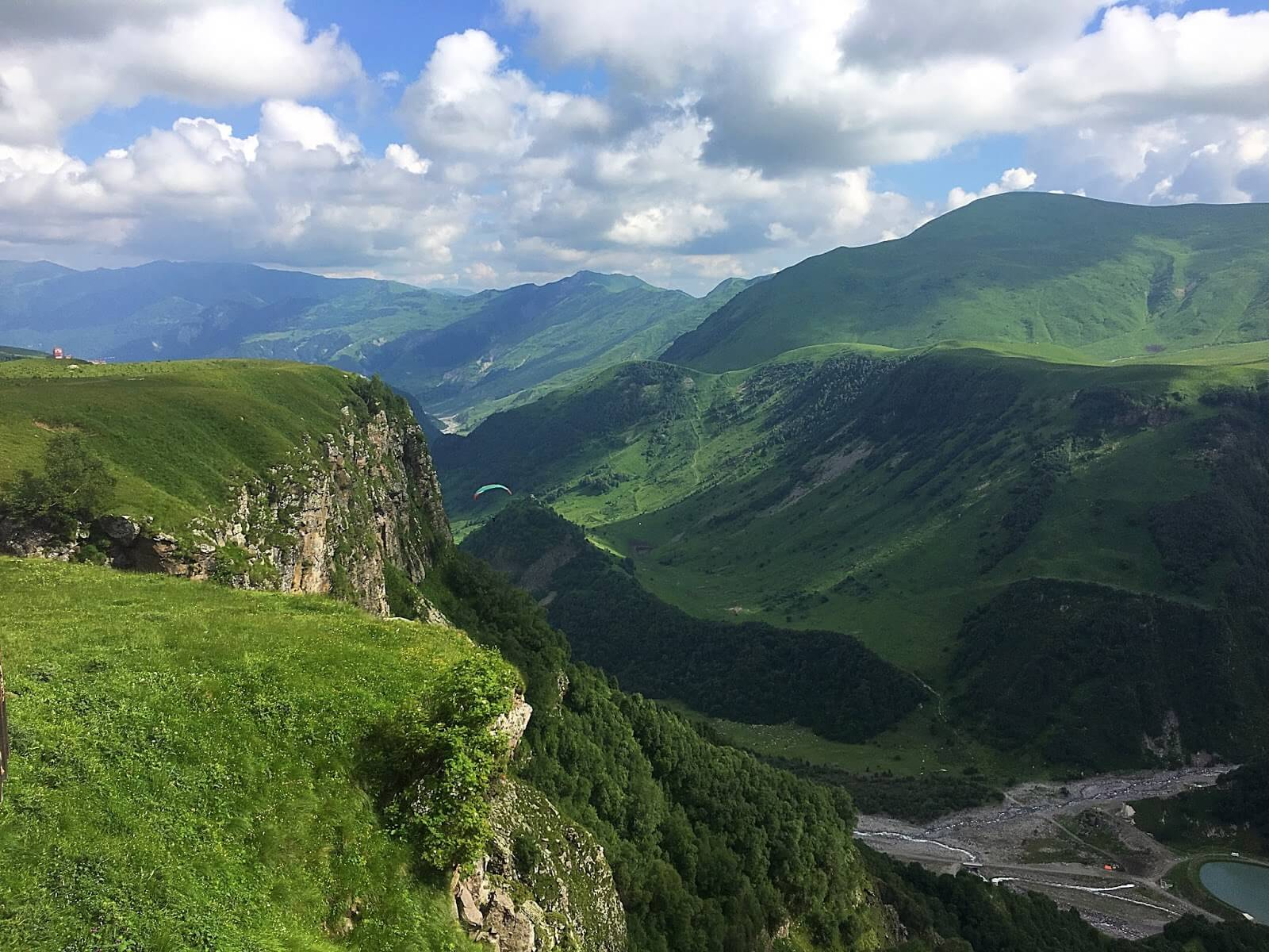 Kazbegi Mountains