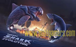 Download Hungry Shark Evolution v4.3.0 Apk (Mega Mods)