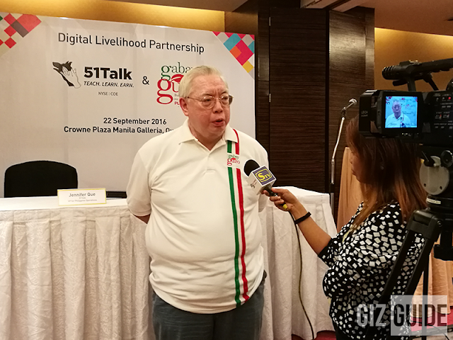 51Talk partners with PLDT's Gabay Guro