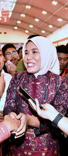 Wawako Palembang Hadiri Trade Expo Indonesia (TEI) ke-33 Tahun 2018 di Tangerang