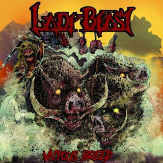 "Lady Beast - ""Every Giant Shall Fall"" (lyric video) from the album ""Vicious Breed"""