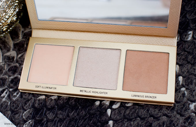 LOV The Glowrious Highlighting & Bronzing Palette Swatch