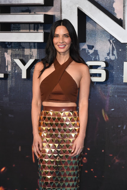 "Actress, Model, @ Olivia Munn At The ""X-Men: Apocalypse"" Premiere In London"