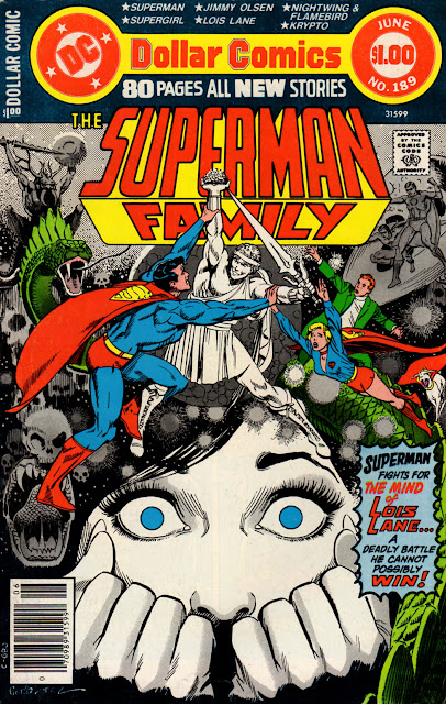 ITG's ABCs: Supergirl & Mon-El in Superman Family #189 (June 1978)