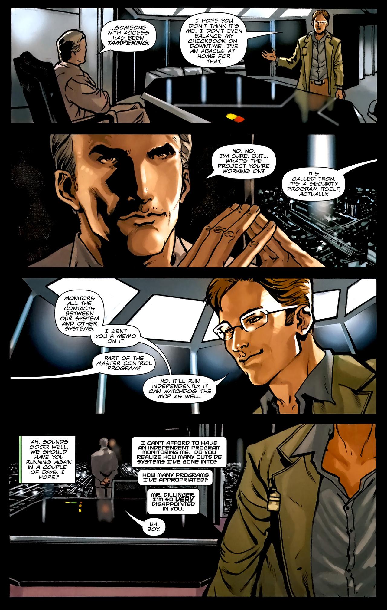 Read online TRON: Original Movie Adaptation comic -  Issue #1 - 17