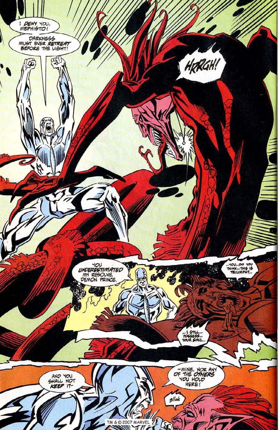 Read online Silver Surfer (1987) comic -  Issue #100 - 42