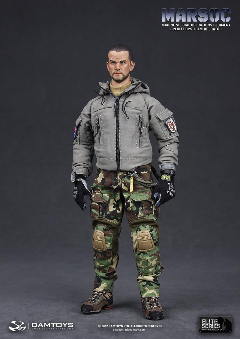 Preview Dam Toys 1 6 Scale Marsoc Special Ops Team