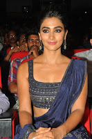 Pooja Hegde choli saree at DJ Duvvada Jaggannadham music launch ~  Exclusive 68.jpg