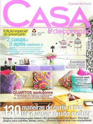 Revista Casa e Decoração. Blog Achados de Decoração