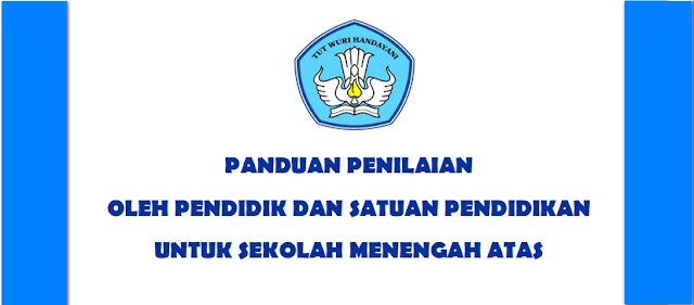 PANDUAN PENILAIAN KURIKULUM 2013 SMA