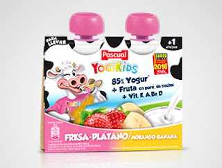 Yogikids Pouch Duopack Fresa-Plátano