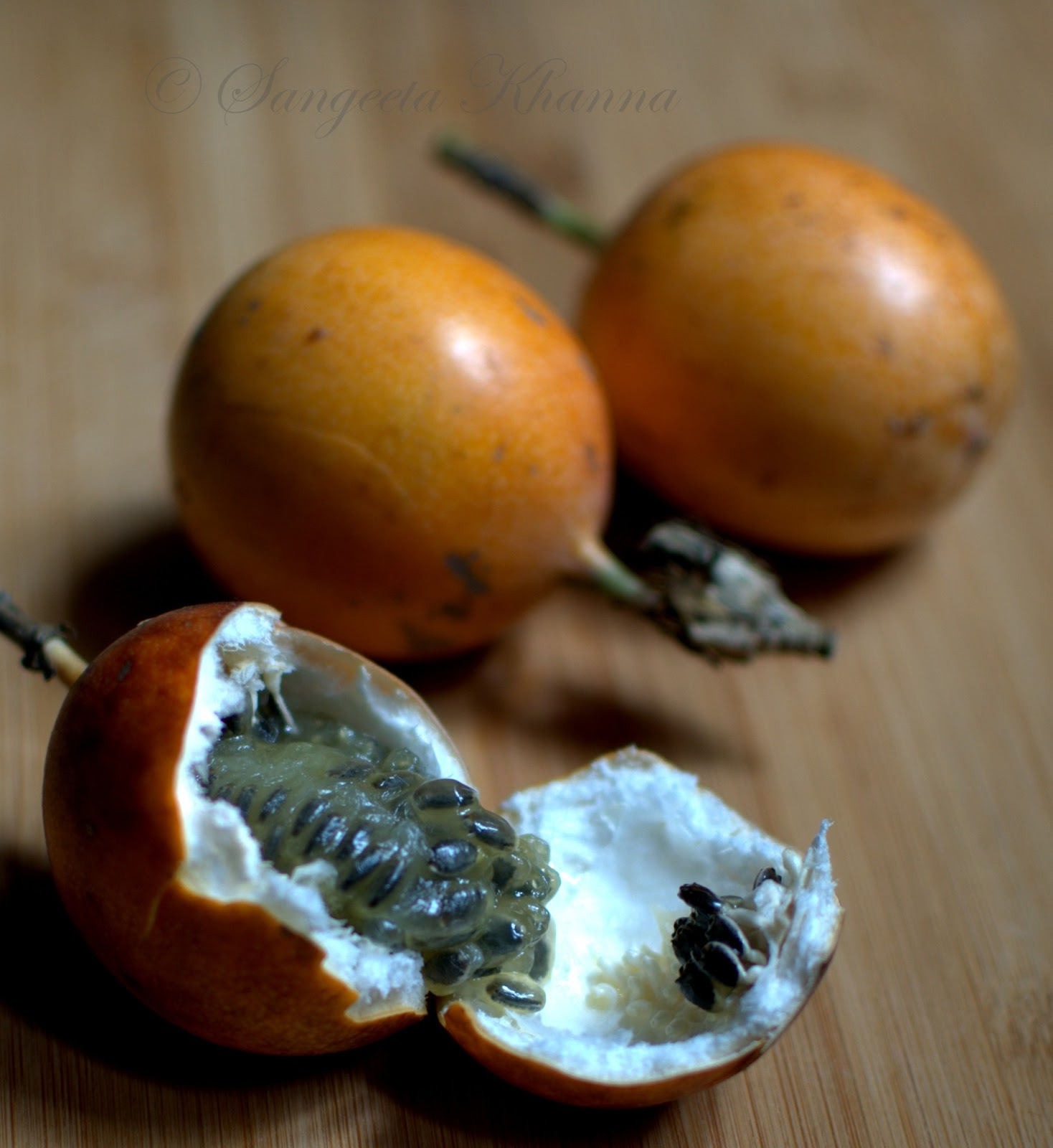 Why Passion Fruit Seeds On Cakes
